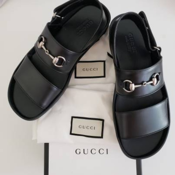 bbe7b0521 Gucci Shoes | Leather Horsebit Sandal Size 9 Us10 Eu | Poshmark